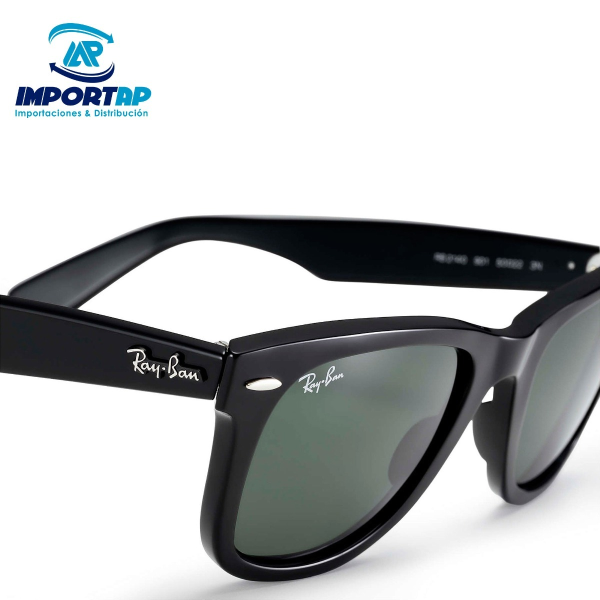 Lentes Ray Ban Original Wayfarer Polarized - S  599,00 en Mercado Libre f231cd2270