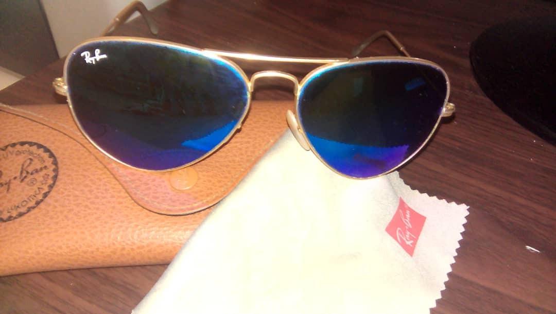 32c5615c9a830 Lentes Ray- Ban Originales Cristal Azul O Rojo - Bs. 175.000,00 en ...
