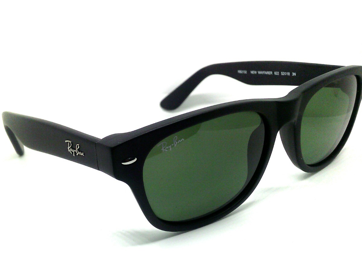 927441189 Lentes Ray Ban Rb2132 New Wayfarer Verde Clasico - $ 1,685.00 en ...