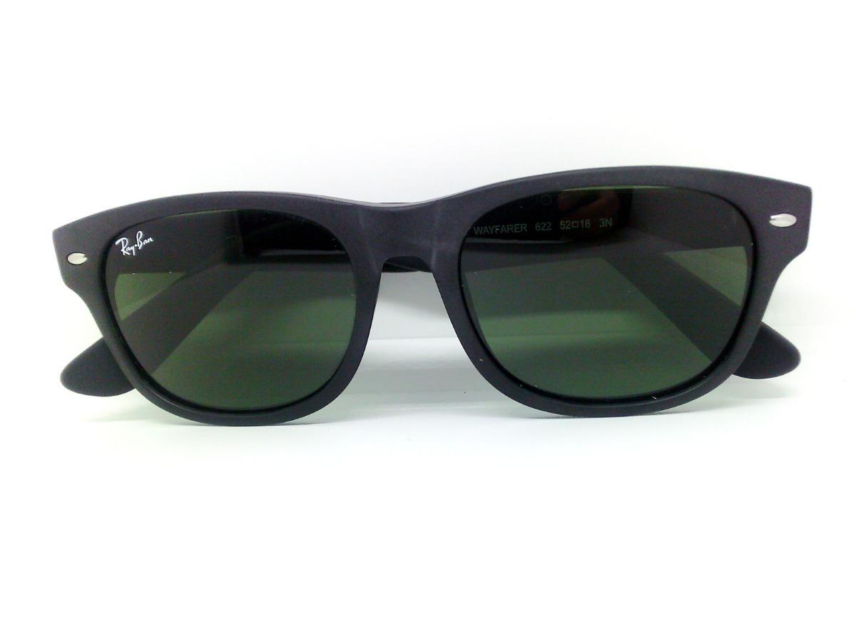 bc7dad2dce Lentes Ray Ban Rb2132 New Wayfarer Verde Clasico - $ 1,685.00 en ...