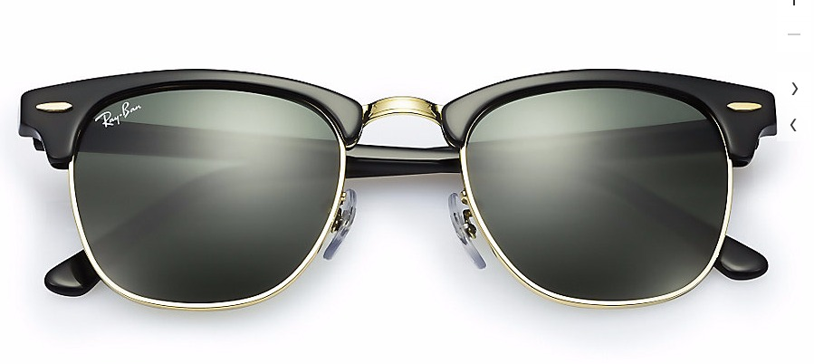 ... canada lentes ray ban rb3016 w0365 clubmaster negros nuevo en caja.  cargando zoom. e6700 ... 50d36a0c85