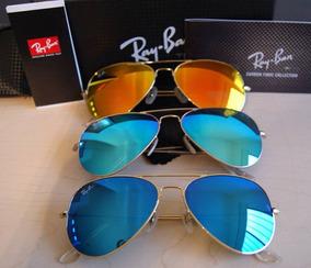 4358d1ba93 Lentes Ray Ban Rb3025 Aviador Original Varios Modelos