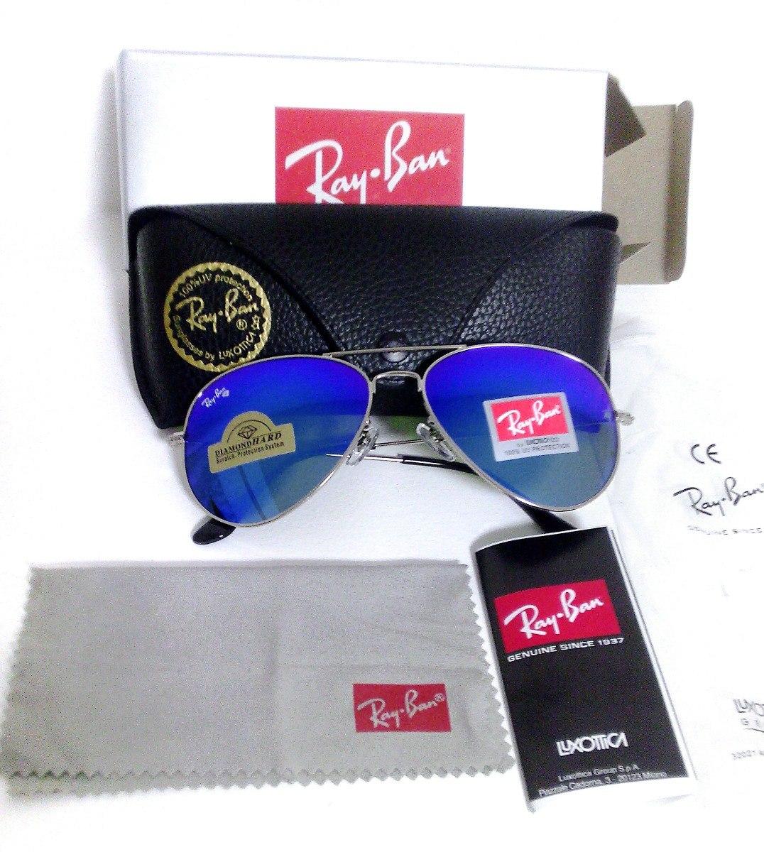 Lentes Ray Ban Rb3026 Aviator Hard Diamond Ultima Pieza -   1 3b30bea5f700
