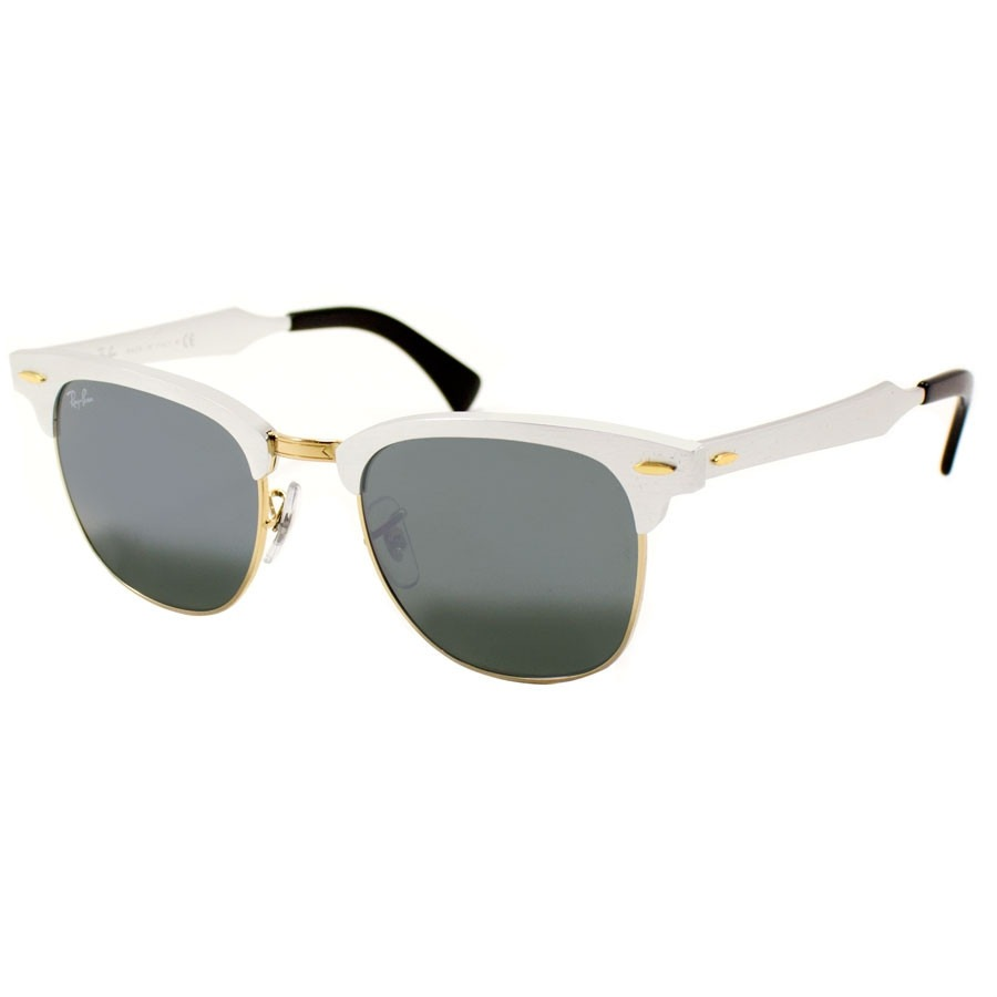 92f0372ad2 new style lentes ray ban rb3507 137 40 51mm clubmaster aluminum plata.  cargando zoom.