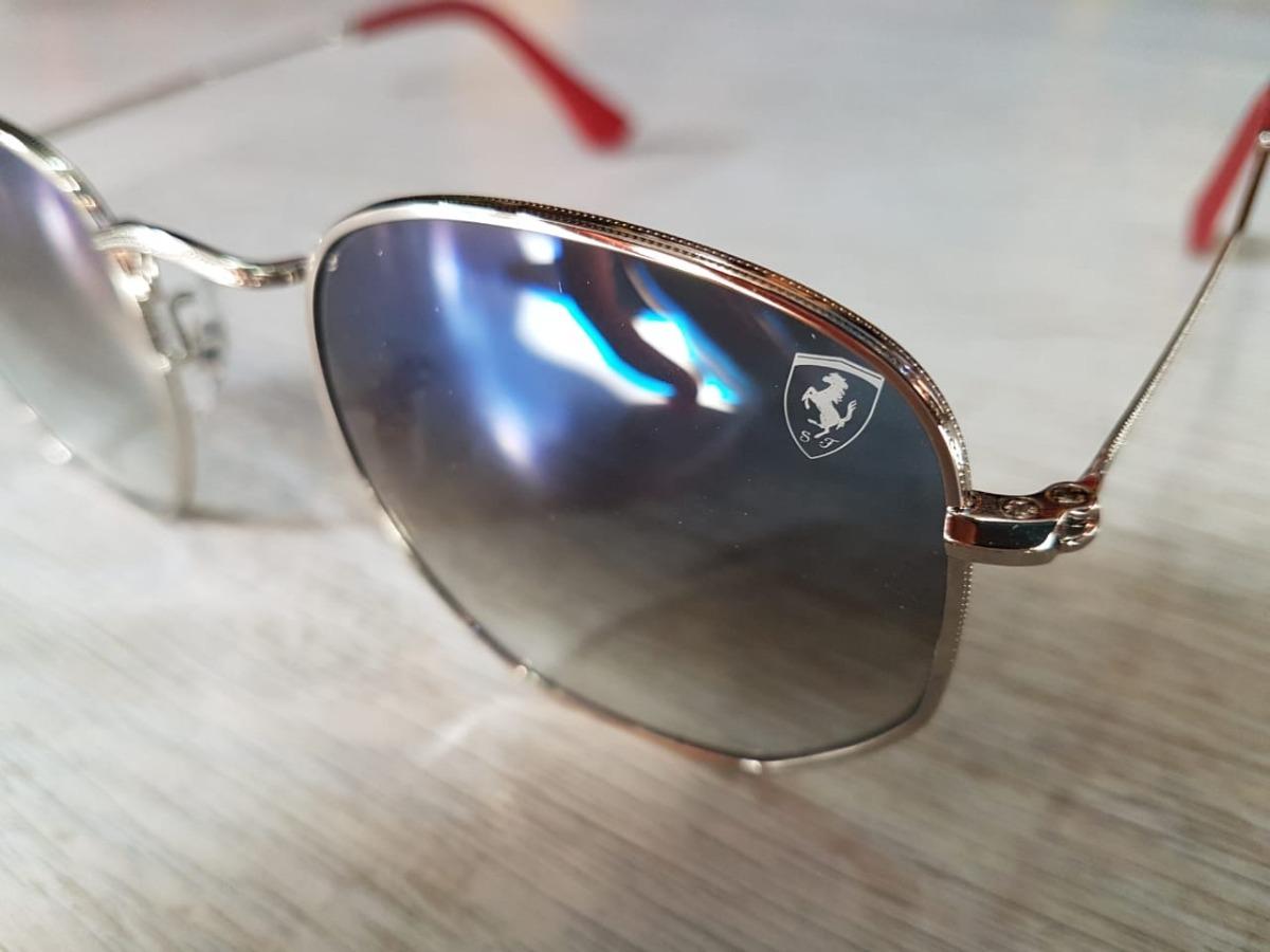 c7649939bf018 lentes ray ban rb3548nm scuderia ferrari collection azul. Cargando zoom.