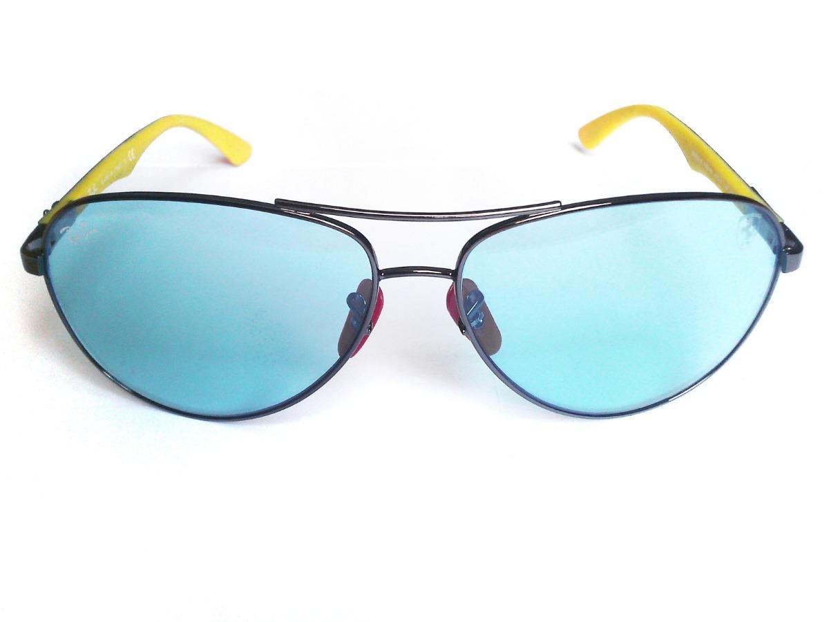 ec49843c4e4 lentes ray ban rb8313m f003 h0 scuderia ferrari azules. Cargando zoom.