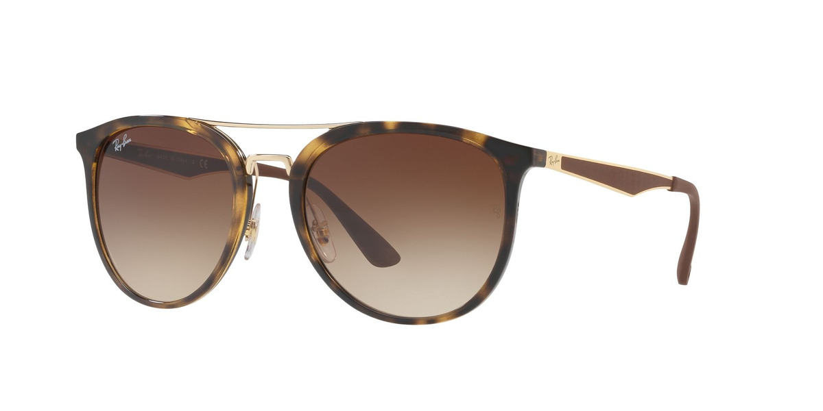 bf139a08b5 Lentes Ray Ban Round Rb4285 Havana Brown | Chilelentes - $ 119.900 ...