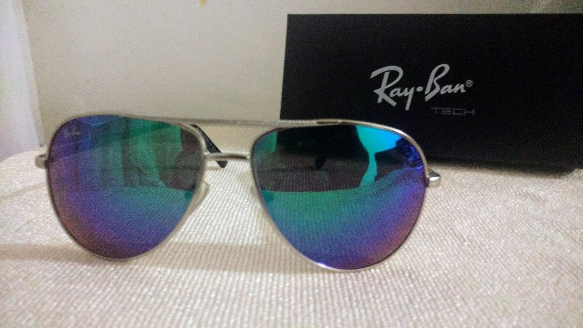 lentes ray ban azules tornasol