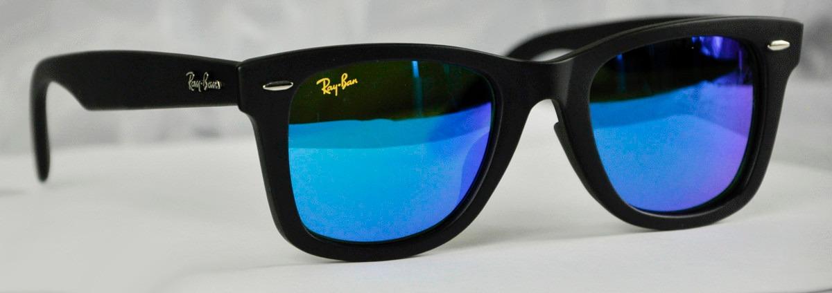 ray ban lentes azules