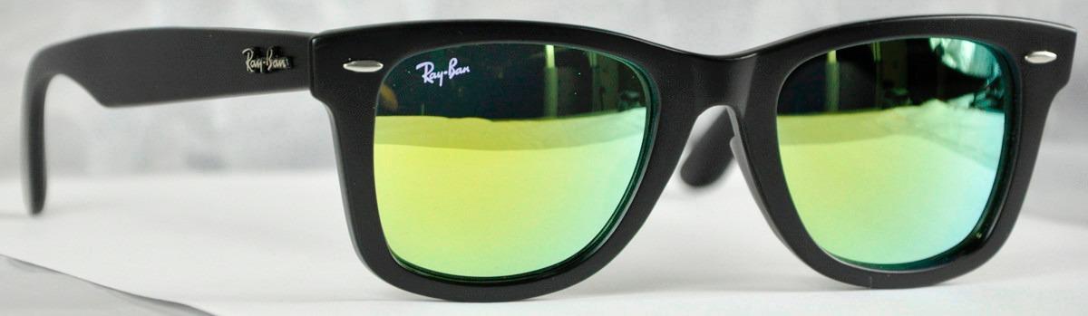 lentes ray ban tornasol verde