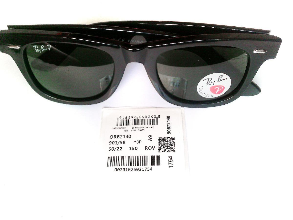 fbc1ff94f6 lentes ray ban wayfarer classic polarizados verde clasico. Cargando zoom.