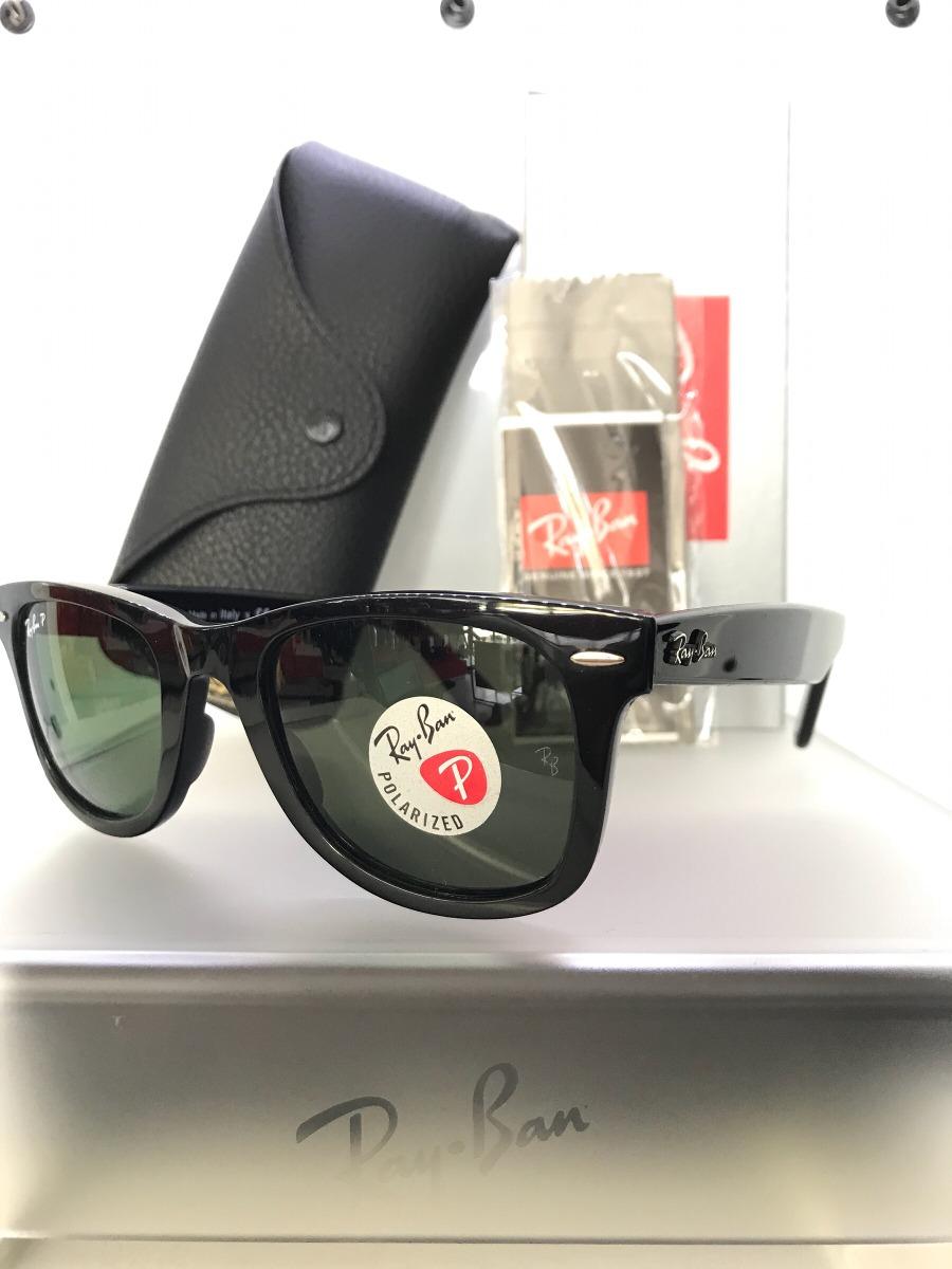 lentes ray ban wayfarer ease rb4340 601 polarizado original. Cargando zoom. 47497867a6