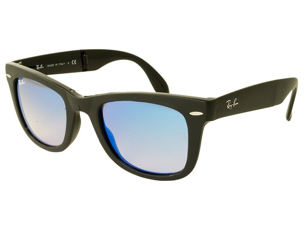 cf1ea3fc11510 lentes ray ban wayfarer folding rb4105 60694o original flash. Cargando zoom.