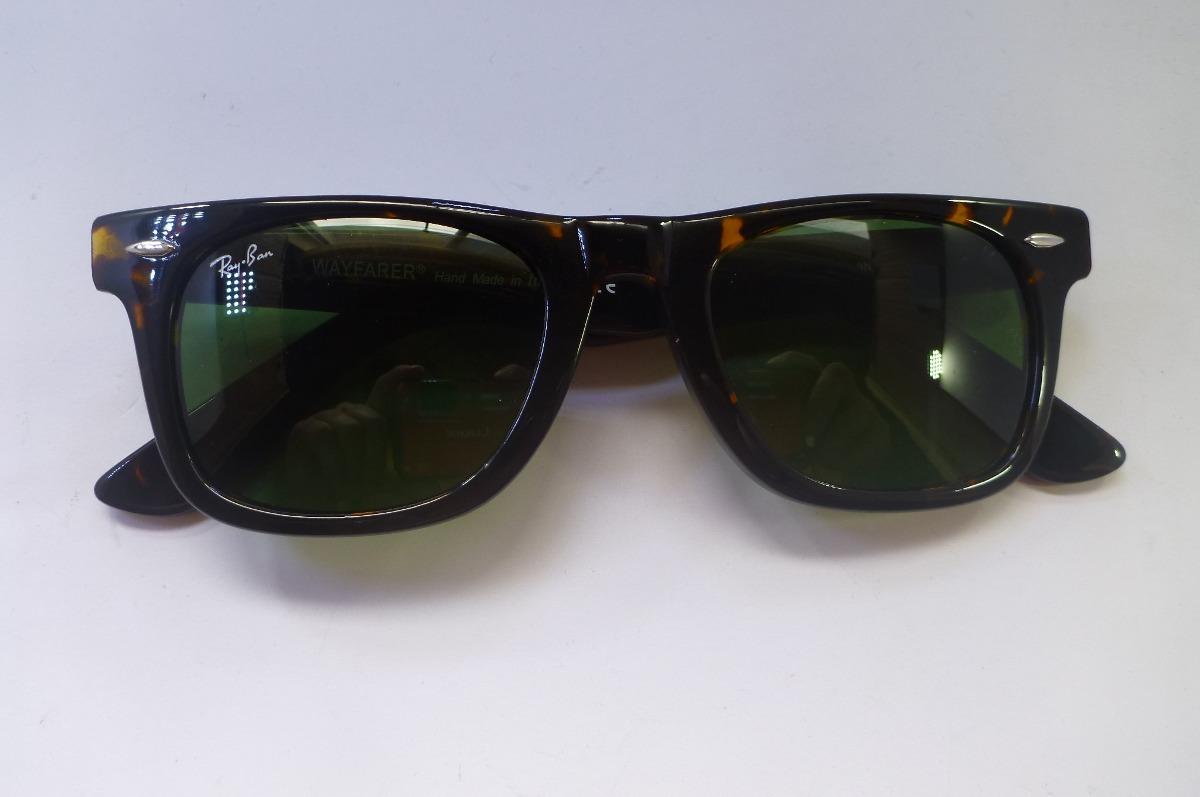 651bf9a1c7785 lentes ray ban wayfarer originales color cafe con negro. Cargando zoom.