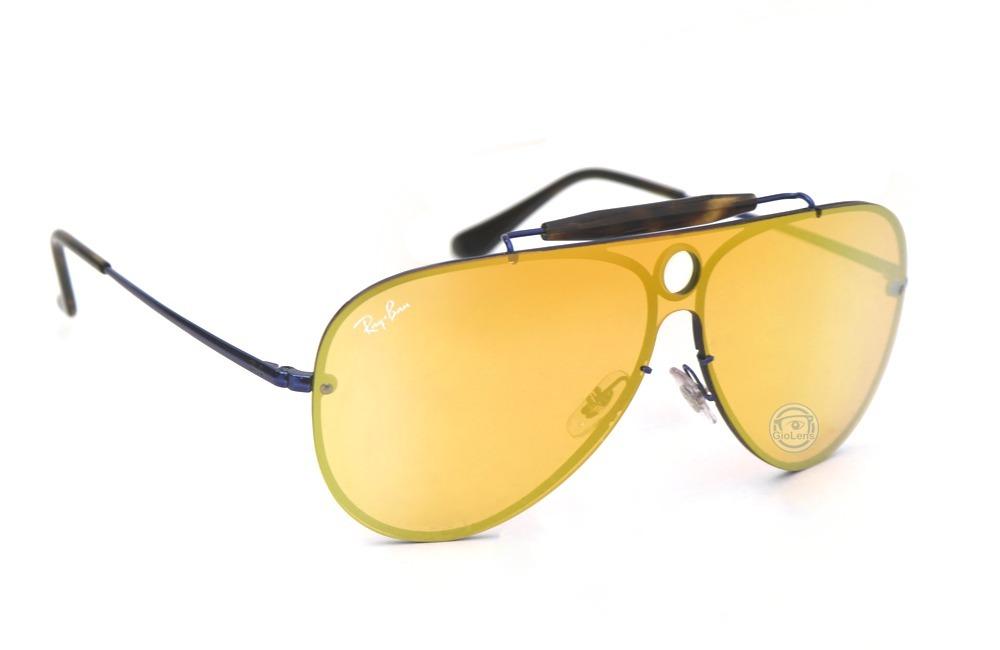 36304deb07b lentes rayban 3581n 90387j blaze shooter blue orange mirror. Cargando zoom.