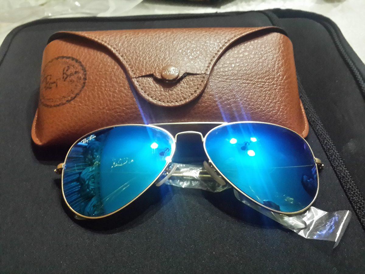 ray ban lente azul polarizada