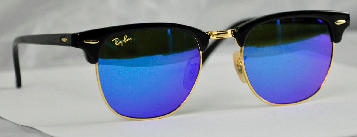 ray ban clubmaster azules