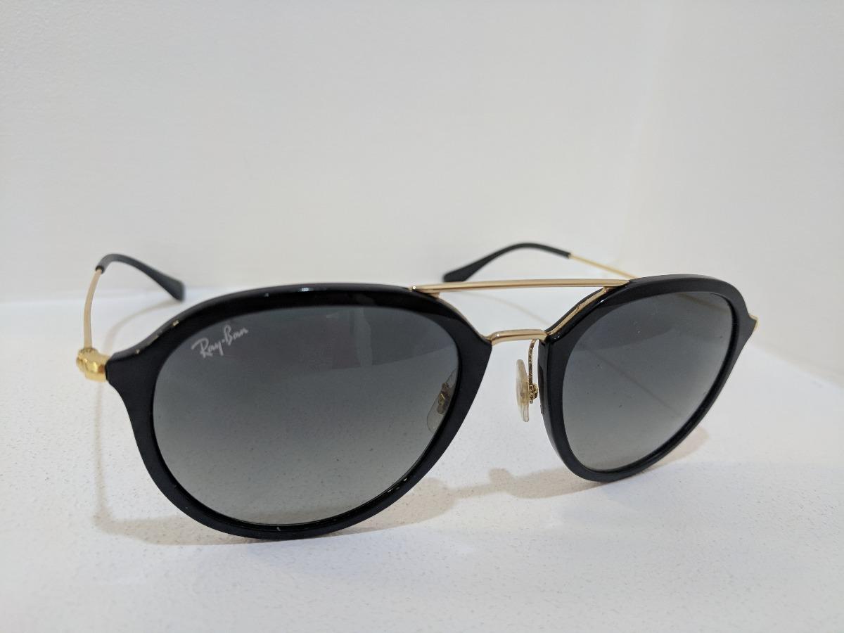 lentes rayban originales negro con dorado estuche modrj9065s. Cargando zoom. e5ec3ebd2a37