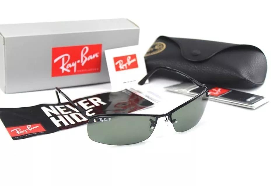 Lentes Rayban Top Bar 3183 Made In Italy 100% Originales - S  249 2e8838e8edda