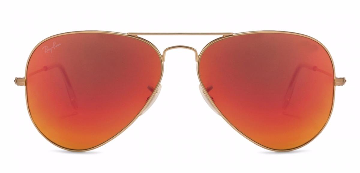 lentes ray ban color oro