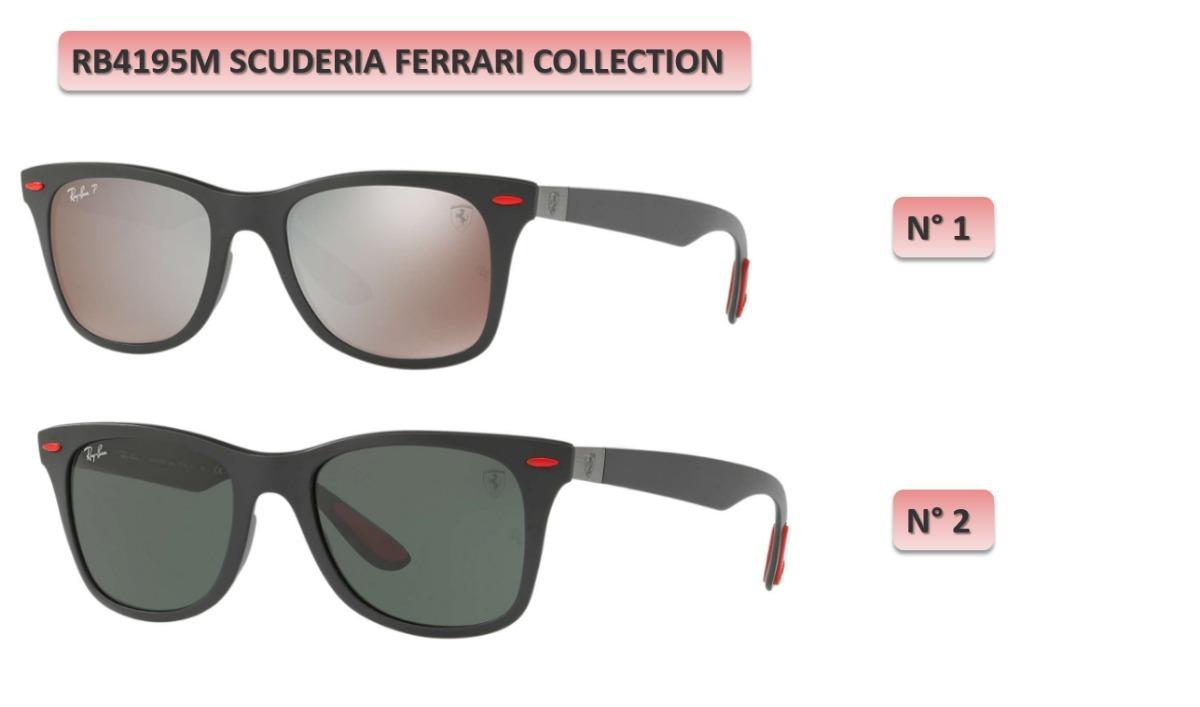 c01ff04c0b4 lentes rayban wayfarer 4195 ferrari limited collection 2018. Cargando zoom.