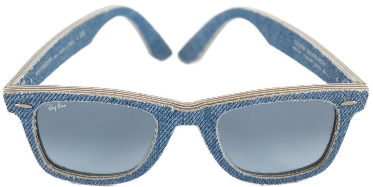 lentes ray ban wayfarer azules