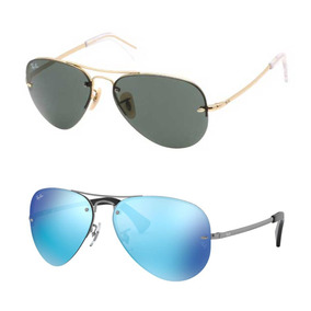 c76664f89 Ray Ban Aviator 58014 [ Original Made In Italia] - Lentes en Mercado ...