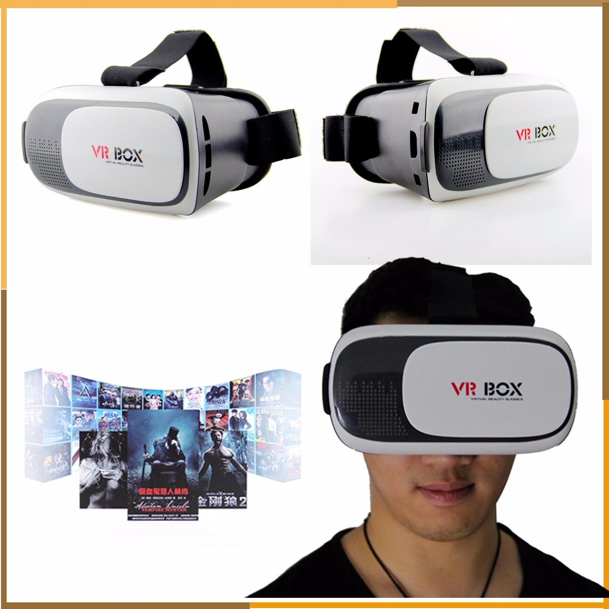 lentes de realidad virtual aumentada 3d vr box 2 0 2016 en mercado libre. Black Bedroom Furniture Sets. Home Design Ideas