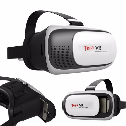 lentes realidad virtual google cardboard  3d vr box