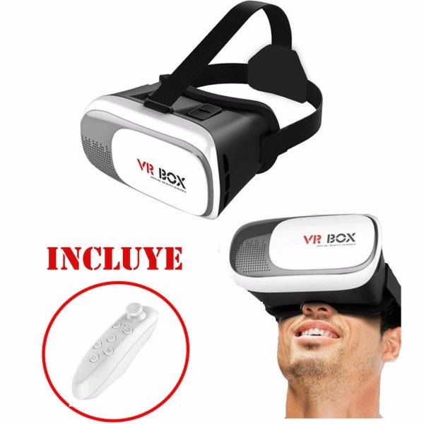 Lentes Realidad Virtual Vr Box 2 0 Mando 100 Juegos S 39 40