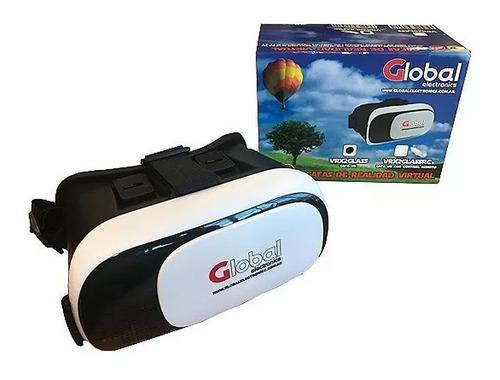 lentes realidad virtual vr control c/ remoto bluetooth