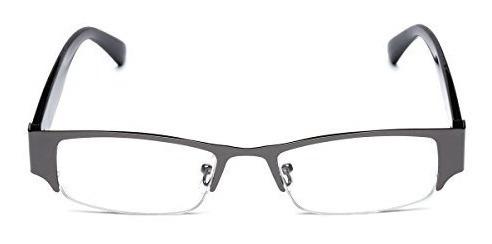 gran selección de cb6f8 29aed Lentes Rectangulares Transparentes. Gafas De Mujer Semi Sin