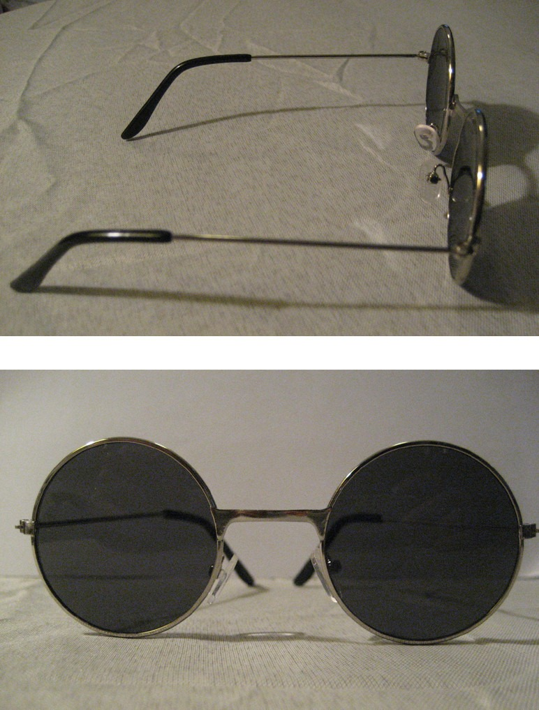 Lentes Redondos Rockeros John Lennon, Onda Beatles, Hippie - $ 670 ...