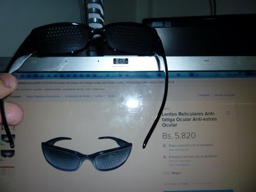 lentes reticulares anti-fatiga ocular anti-estres ocular