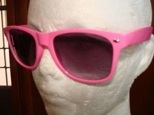 lentes retro color rosa moda vintage envio gratis y 18 msi