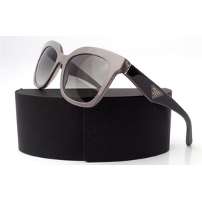 7b605766fc1 Lentes De Sol Prada Opr 24qs Tfu 3m1 Black   Grey Italiano