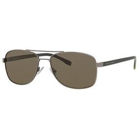 60c9a07f3c9ad Lentes Gafas De Sol Hugo Boss Black 0762s Classic Navigator