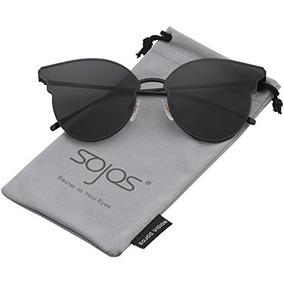 c5836bf611c0f Sojos Fashion Gafas De Sol Cateye Extragrandes Para Mujer Le