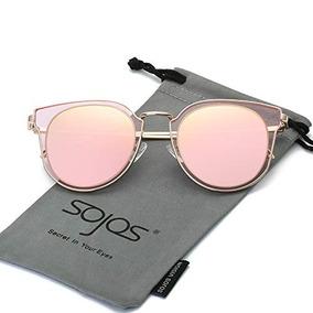 ecbf318912ce8 Sojos Gafas De Sol Polarizadas De Moda Para Mujer Lente De E