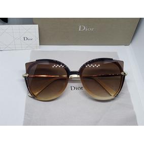 16503a88d2 Anteojos De Sol Dior Cat Eyes Imitacion - Lentes en Mercado Libre México