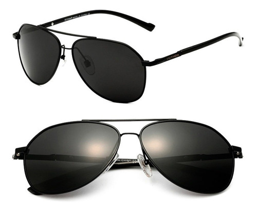 lentes sol espejado polarizado aluminio uv400 veithdia 3025