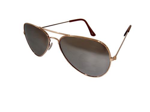 lentes sol hombre mujer aviador protección uv envío gratis