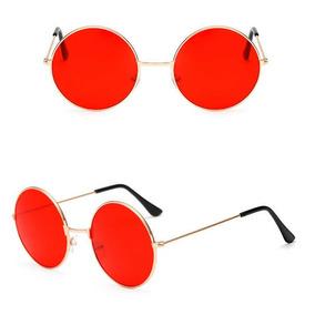 06d7ce6092 Marco Lentes Opticos Lunas Estilo Lennon Ovaladas. Lima · Lentes De Sol Estilo  Lennon Lunas Rojas Marco Dorado 52mm