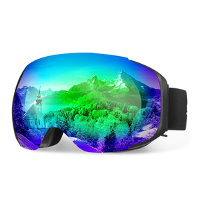 82fa67de68 Enkeeo Ski Goggles Lente Desmontable De Doble Capa Antiva