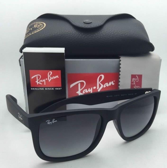 Lentes Sol Modelo Justin 4165 Black Degrade Rayban Negro Rb - S  299 ... 5453d30762