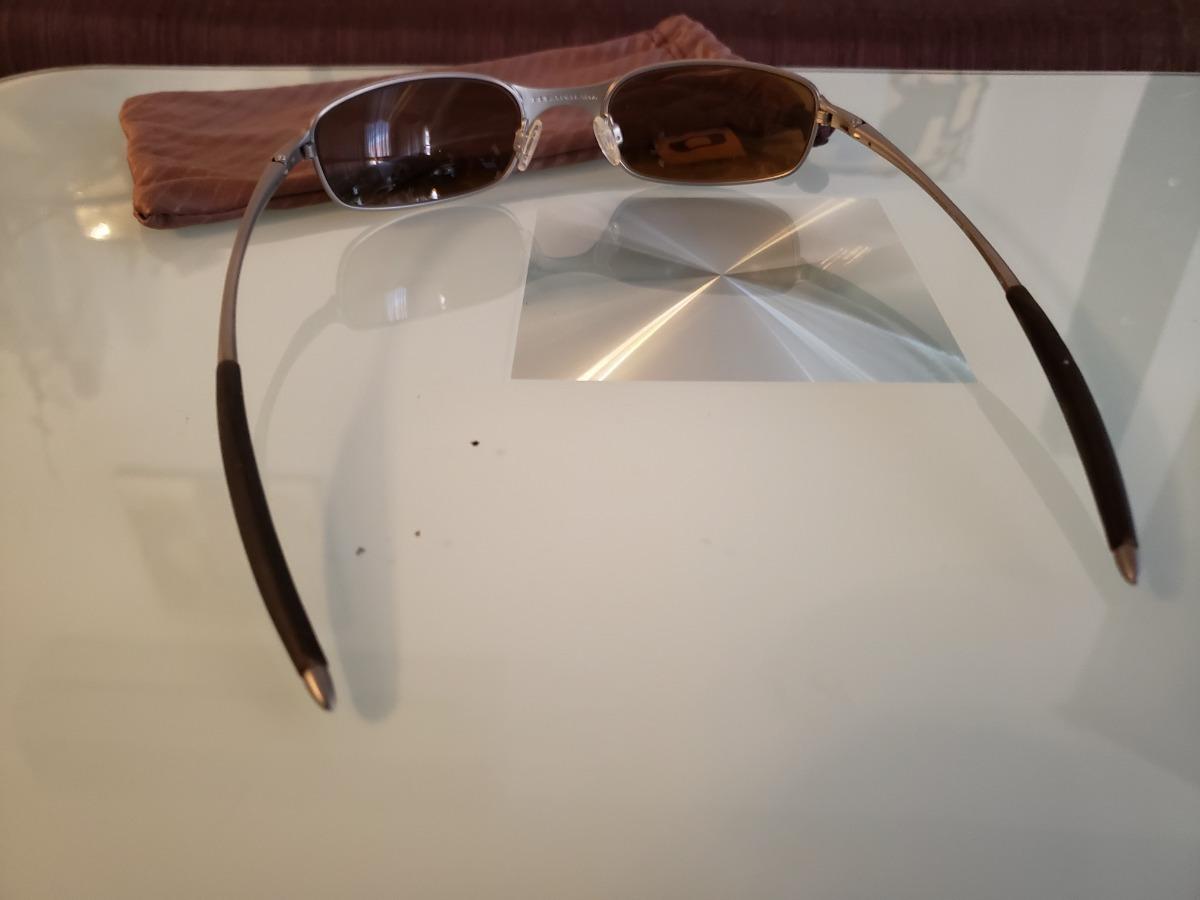885b1018a1 lentes sol oakley titanium square wire 2.1 tungsten iridium. Cargando zoom.