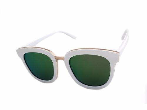 lentes sol paps lmupa1402qb pasta mayoreo blanco/ verde tor