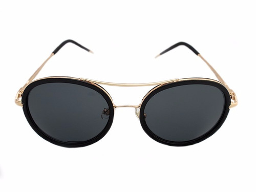 lentes sol paps lunmt0101hl metal mayoreo negro/ negro