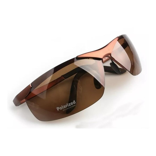lentes sol polarizados aluminio / excelente diseño marrón