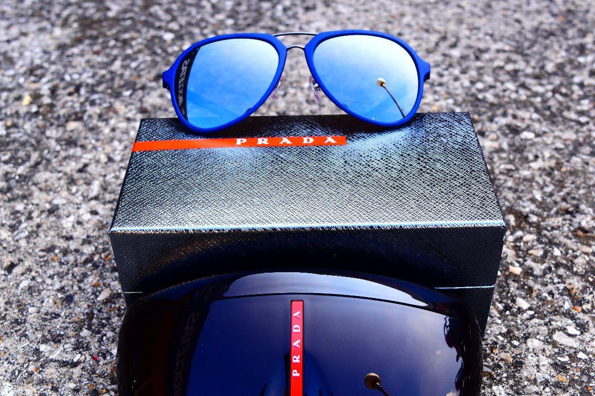 Lentes Gafas De Sol Prada Hombre 05rs Tfy7w1 Original Luxsun ...